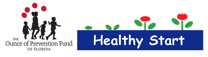 The Ounce of Prevention Fund of Florida and Healthy Start Miami Dade logos