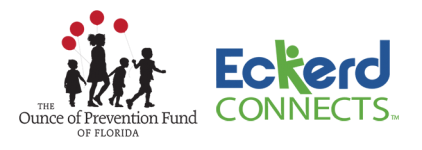 The Ounce of Prevention Fund of Florida and the Eckerd Foundation logos